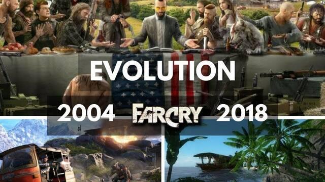 Así ha evolucionado gráficamente la saga Far Cry entre 2004 y 2018