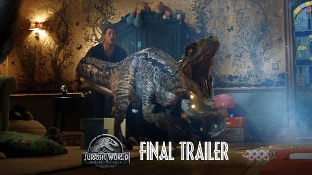 Jurassic World: El reino caído presenta su espectacular tráiler final