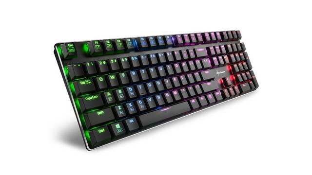 Sharkoon presenta sus nuevos teclados mecánicos