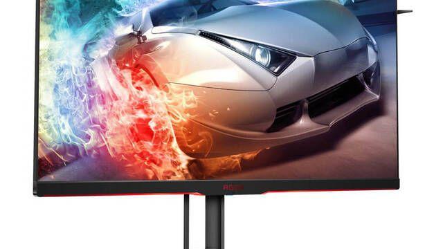 AOC presenta su nuevo monitor para jugones con FreeSync 2 y HDR