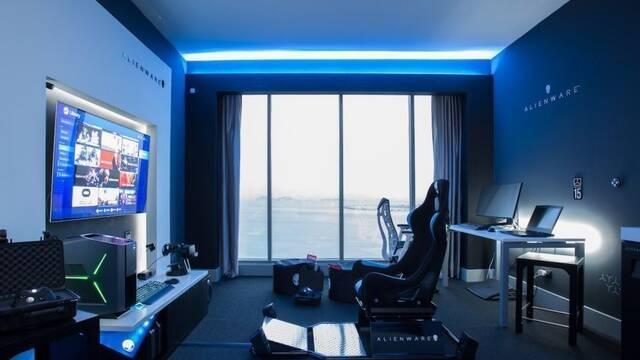 Alienware presenta su propia habitación de hotel de cinco estrellas para gamers