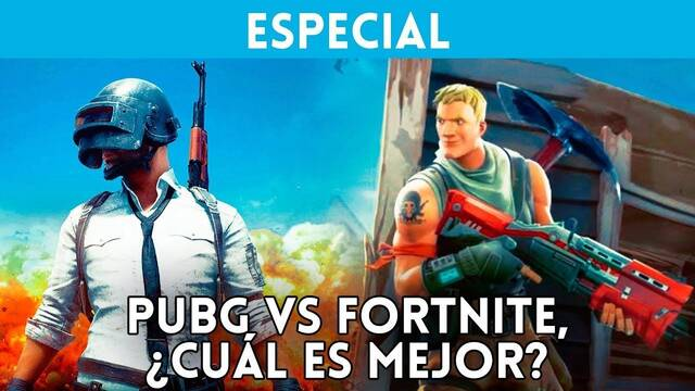 Vídeo: PUBG Vs. Fortnite, ¿cuál es el rey de los Battle Royale?