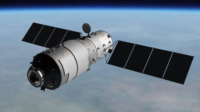 La estación espacial china Tiangong-1 impacta en el Pacífico Sur