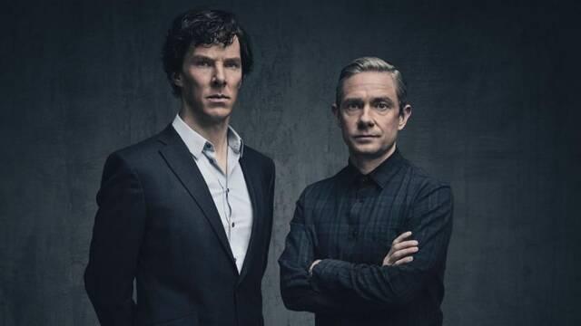 Benedict Cumberbatch defiende 'Sherlock' de las críticas de Martin Freeman