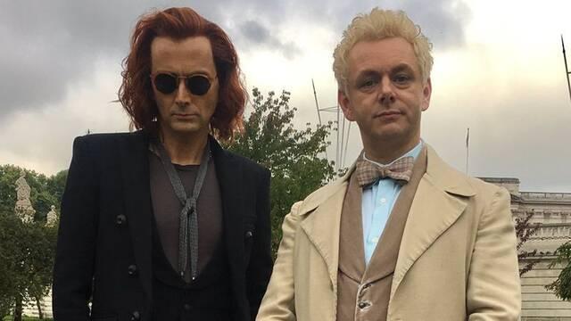 David Tennant presagia que 'Buenos Presagios' será una serie 'épica'