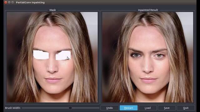 La nueva tecnología de NVIDIA arregla imágenes dañandas