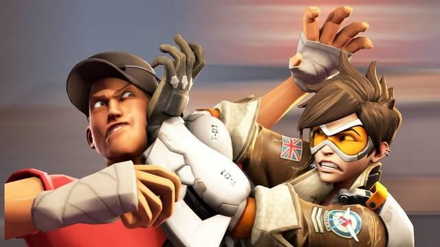 Overwatch y Team Fortress 2 unen sus mundos en un corto genial