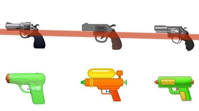 Google, Samsung y Twitter sustituyen la pistola tradicional por la pistola de agua