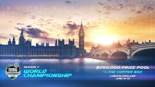 Las finales del Mundial de Rocket League tendrán lugar en Londres