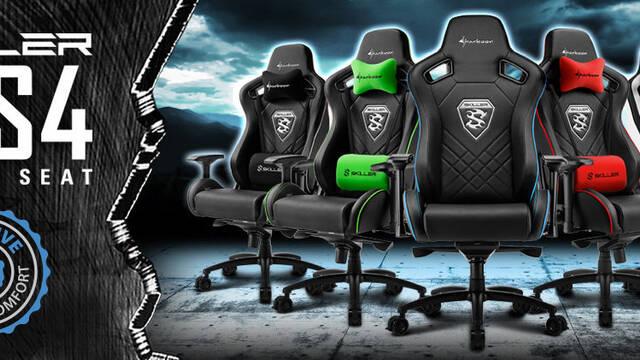 Sharkoon lanza su nueva silla para gamers SKILLER SGS4