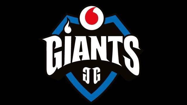 Vodafone será el principal patrocinador de Giants Gaming