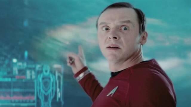 Simon Pegg no cree que Tarantino acabe dirigiendo Star Trek 4
