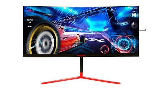 """AOC AGON AG353UCG: monitor para jugar de 35"""" y 200Hz"""