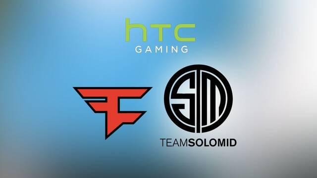 HTC patrocinará a FaZe y renueva su acuerdo con Team SoloMid