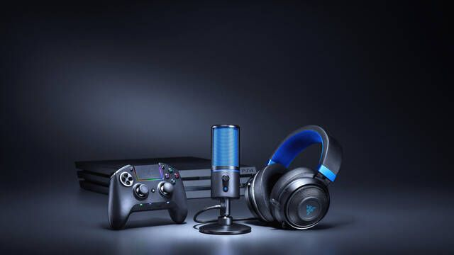 Razer lanza su micrófono Seirēn X para PS4