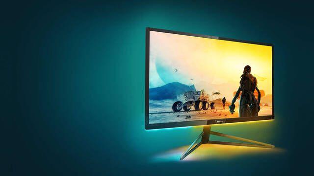 """Philips lanza un nuevo monitor 4K de 32"""" para jugar en consola"""