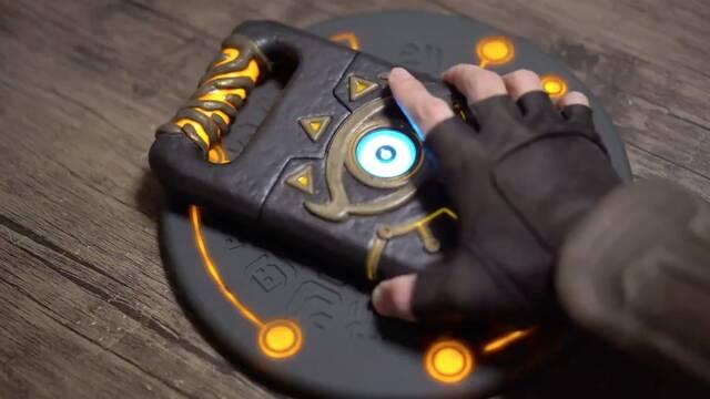 Carga tu móvil al estilo Zelda con este alucinante cargador inalámbrico Sheikah