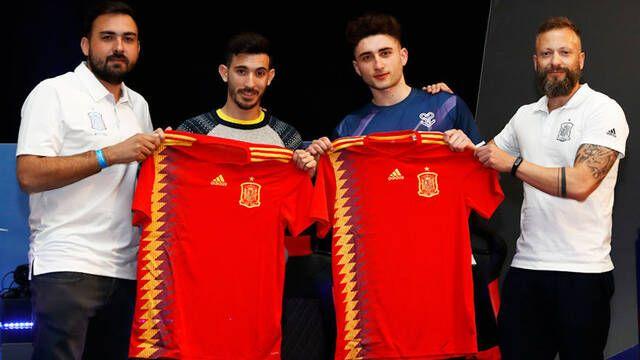 Xexu y l5l Zidane son los jugadores de la Selección Española de eFútbol
