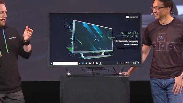 """Predator CG437KP, el monitor de 43"""", 4K y 144Hz"""