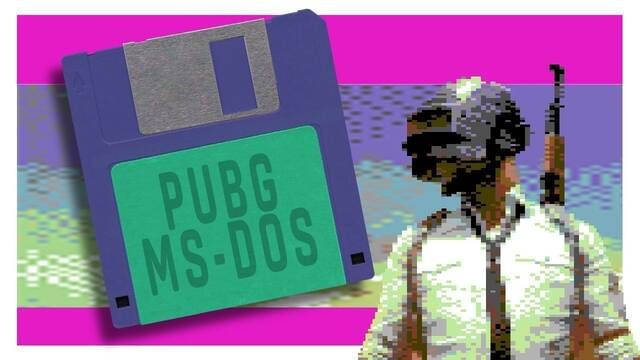 Así sería PUBG si se hubiera lanzado en 1991