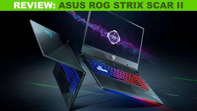 Asus ROG Strix SCAR II, potencia pura para jugar en tu portátil