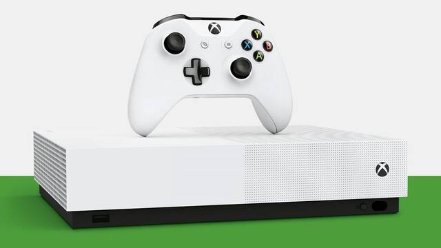 Xbox One S All-Digital Edition, la Xbox One sin lector, llegará el 7 de mayo