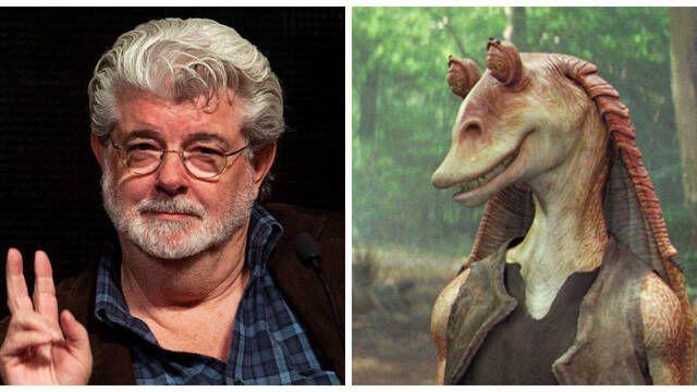 George Lucas: 'Jar Jar Binks es mi personaje favorito'