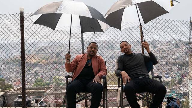 Will Smith celebra el final del rodaje de 'Dos policías rebeldes 3'