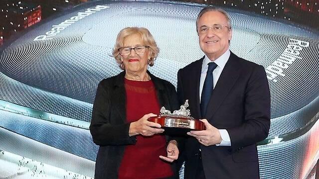 Florentino Pérez subraya que el nuevo Bernabéu tendrá 'un espacio destinado a los esports'