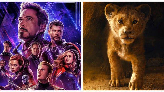 'El Rey León' podría competir en taquilla con 'Vengadores: Endgame'