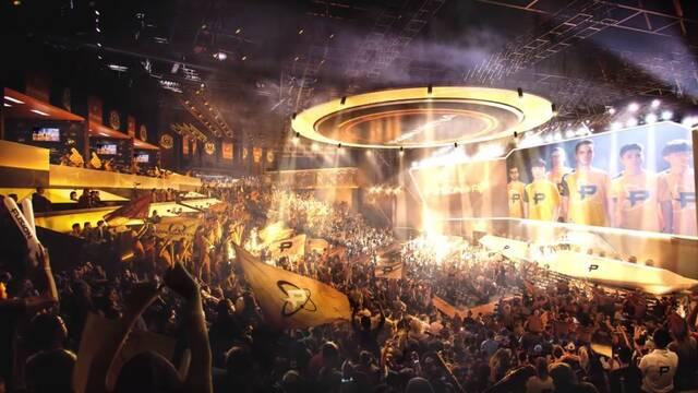 Así será el espectacular estadio de esports de 50 millones de dólares