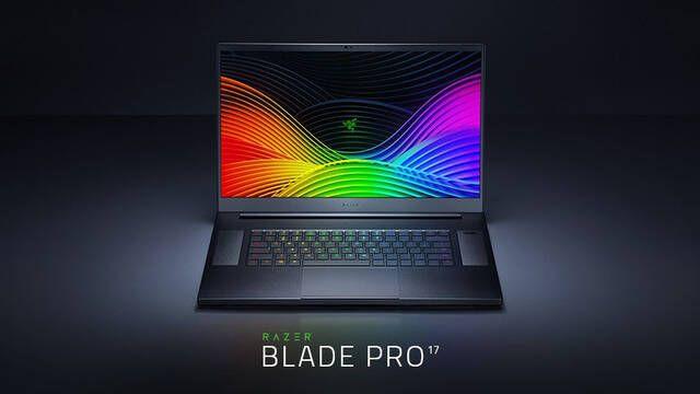 Razer presenta su nuevo portátil Razer Blade Pro 17 diseñado para jugar