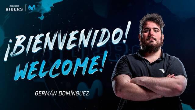 Germán Domínguez ficha por Movistar Riders