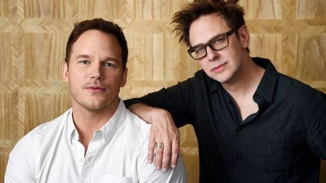 Chris Pratt 'emocionado' con el regreso de James Gunn a Marvel