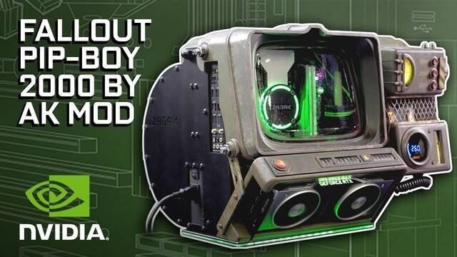 El PC modding de los viernes: Fallout y su Pip-Boy 2000 se vuelven PC