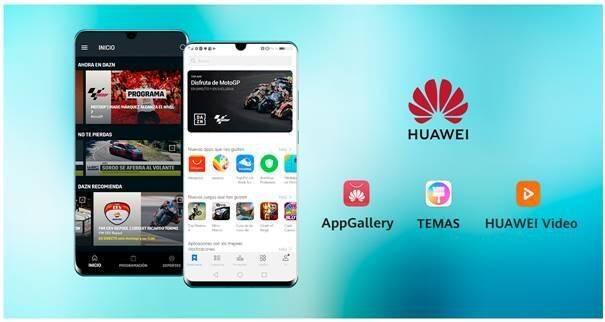 Huawei cierra una alianza con DAZN para llegar el deporte a sus teléfonos
