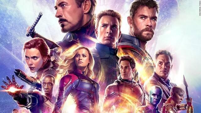 'Vengadores: Endgame' es el mejor estreno de la historia con 1200 millones