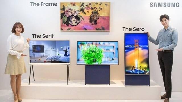 Samsung lanza su primera televisión vertical