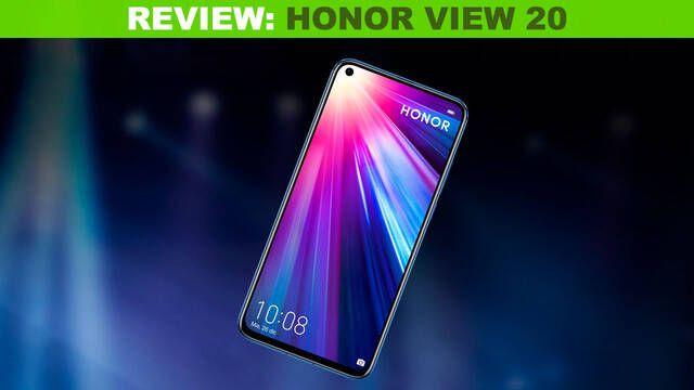 Análisis Honor View 20: Un excelente móvil para jugar a los juegos más exigentes