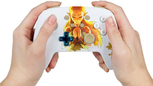 Así es el nuevo mando de Zelda para Nintendo Switch