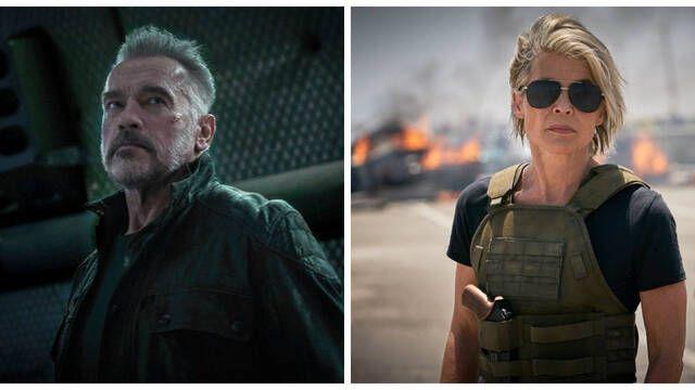 'Terminator 6': Primeras fotos de Linda Hamilton y Arnold Schwarzenegger