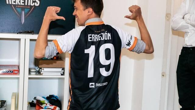 Errejón visita a Team Heretics y apuesta por apoyar a los esports
