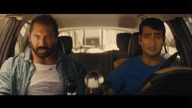 Tráiler de 'Stuber', protagonizada por Kumail Nanjiani y Dave Bautista