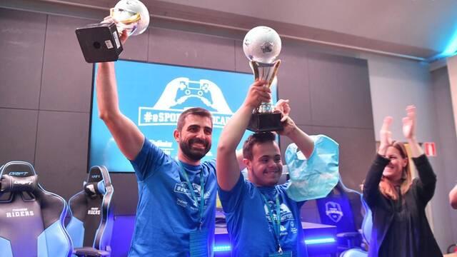 La final de la I Liga de #Esportsunificados unió a jugones con y sin discapacidad intelectual