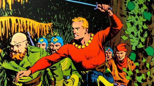 La primera tira de cómic de Flash Gordon se vende por medio millón de euros