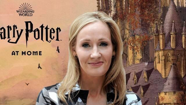 J.K. Rowling presenta una web para disfrutar de Harry Potter en casa