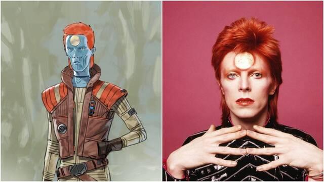 Star Wars: El ascenso de Skywalker iba a rendir tributo a Bowie con un personaje