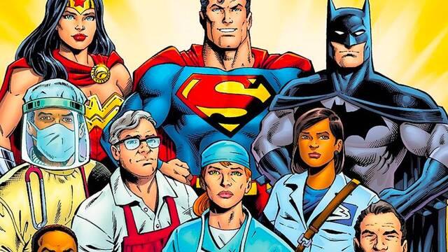 DC Cómics agradece el esfuerzo de los héroes que luchan contra el coronavirus