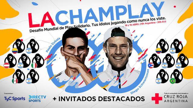 """La CamPlay Solidaria, un torneo de FIFA 20 con estrellas como """"Kun"""" Agüero, James o Campazo"""