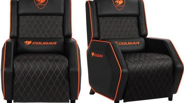 Cougar pone precio a su sillón para gamers: 280 dólares